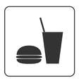 Food and drink icon vector image vector image