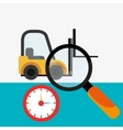 logistic service vector image vector image
