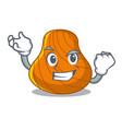 successful hard shell character cartoon vector image vector image