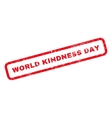 World Kindness Day Rubber Stamp vector image