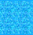 blue abstract striped shape mosaic pattern vector image vector image