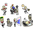 Full jobs vector image