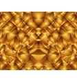 Gold cristal pattern vector image vector image
