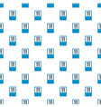 knife and fork pattern seamless vector image