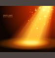 magic light background vector image