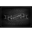 Set of old vintage ribbon banners with word vector image