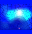 abstract technology background with blue glowing vector image vector image