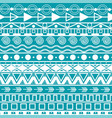 horizontal lines seamless aztec pattern vector image vector image