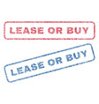lease or buy textile stamps vector image vector image