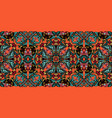 seamless pattern from various colored vector image