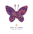 textured christmas stars butterfly silhouette vector image