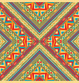 tribal seamless colorful geometric pattern vector image vector image