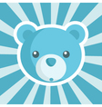 Baby Shower Bear Icon vector image vector image
