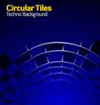 circlutiles vector image vector image