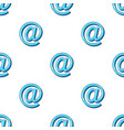 email symbolmail and postman pattern icon in vector image vector image