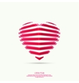 icons in form hearts vector image vector image