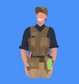 male master or repairman mechanic repair service vector image