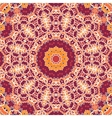 Mandala Tile Seamless Ornamental Symmetry Pattern vector image vector image