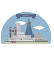 Pyongyang vector image vector image
