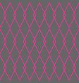 tile pattern with grey and pink background vector image vector image