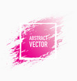 abstract splash pink vector image vector image