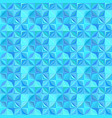 blue repeating striped mosaic tile pattern vector image vector image