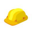 building construction helmet or project helmet vector image