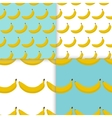 Colorful seamless pattern of bananas