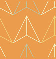 geometric pattern with lines triangles seamless vector image
