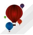 Hot air balloon graphic vector image vector image