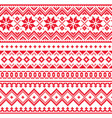 lapland seamless winter pattern sami art vector image vector image