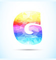 letter g logo icon vector image