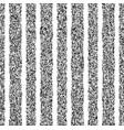 black stripped vertical grunge pattern vector image vector image