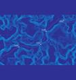 conceptual topographic map vector image vector image