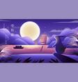 happy mid autumn festival rabbits texture vector image vector image