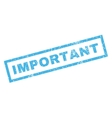 Important Rubber Stamp vector image vector image