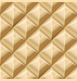 abstract tiled gold seamless background vector image