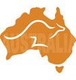 Australia vector image