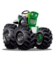 Cartoon Tractor vector image vector image