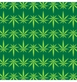 Green Marijuana Pattern vector image