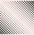 halftone dots pattern geometric texture vector image vector image