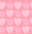 hearts seamless abstract vector image vector image