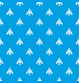 passenger airplane pattern seamless blue vector image vector image