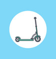 scooter icon sign symbol vector image vector image