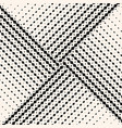 seamless pattern with halftone triangle tiles vector image vector image