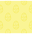 Stock easter egg background vector image vector image