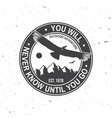 you will never know until go summer camp vector image