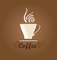 coffee icon vector image vector image