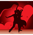 dancing couples vector image vector image