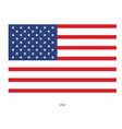image of american flag usa united states symbol vector image vector image